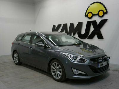 käytetty Hyundai i40 Wagon 1,7 CRDi 100kW 6AT Style / 1-Om. Suomi-Auto / Keyless / BT / Lämmitettävä ohjauspyörä /