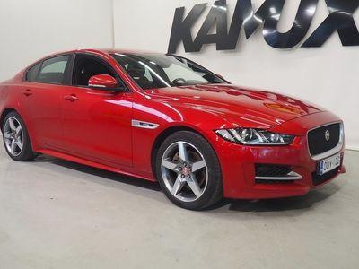 käytetty Jaguar XE 20d R-Sport Aut / Suomi-auto / Webasto kauko-ohjauksella / Navi / Peruutuskamera /