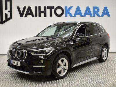 käytetty BMW X1 F48 sDrive18d Business xLine # Xenon, Vetokoukku, Bluetooth, Suomi-Auto #