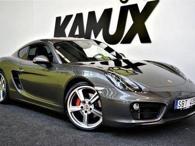 käytetty Porsche Cayman S | PDK | Sport Chrono | Uutena myyty Ruotsissa