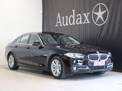 käytetty BMW 518 518 d A Business Exclusive Pro Edition Suomi-auto. Navi. Koukku. Ratinlämmitin. Dakota Brown.