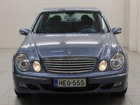 käytetty Mercedes E200 Kompressor 4d A * TODELLINEN TIMANTTI! *