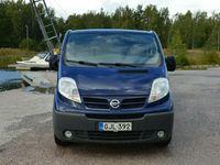 käytetty Nissan Primastar Van L2H1 dCi 115, WEBASTO, Alvilline, Vetokoukku, Seuraava katsastus 7.12.2020