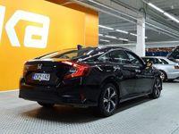 käytetty Honda Civic Sedan 182 hv Sport ** 1-OM.Suomiauto / Adapt.Vakkari / Navigointi / Törmäysvaroitus / Kaistavahti /