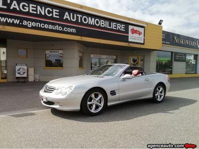 occasion Mercedes SL500 5.0 i Roadster Cabriolet V8 24V 306cv Boîte auto (230)