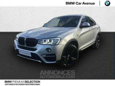 occasion BMW X4 xDrive35dA 313ch xLine