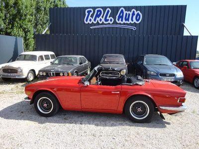 occasion Triumph TR6 CARBU