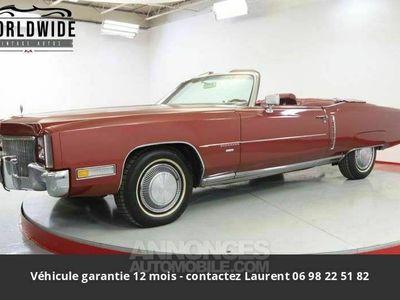 occasion Cadillac Eldorado 8.2l v8 1971 prix tout compris