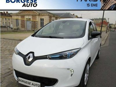 occasion Renault Zoe Zen Charge Rapide Gamme 2017