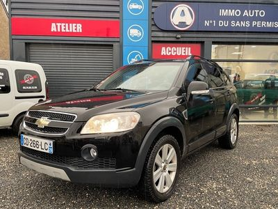 occasion Chevrolet Captiva 2007 - Noir - 2,0L CRDI 150CH 7 Places