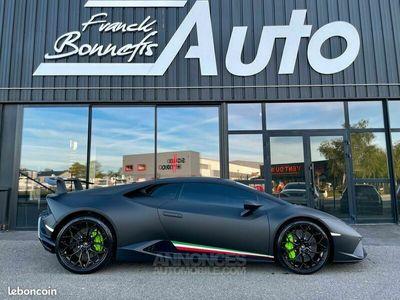 occasion Lamborghini Huracán Performante LP640-4 5.2 V10 640 Ch / Française / 1ère main / TVA