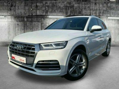 occasion Audi Q5 2.0TDI Quattro S-line S-tronic7 10cv (190ch) / Sièges Chauffants / Palettes aux volants / 1er main / Garantie 12 mois
