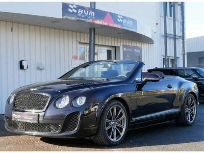 occasion Bentley Continental GTC 2 6.0 W12 630 SUPERSPORTS
