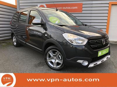 occasion Dacia Lodgy Blue dCi 115 7 places - 2020 Stepway