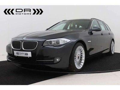 occasion BMW 520 dA - LEDER - NAVI - 1 2M GARANTIE - TOPSTAAT