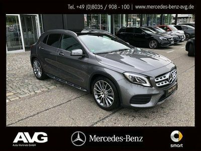 occasion Mercedes GLA250 4MATIC AMG Navi LED caméra pano roof PDC