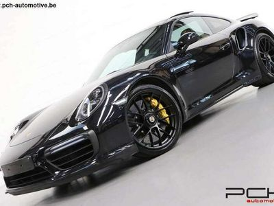 occasion Porsche 991 Turbo S 3.8 580cv PDK - PANO - LED - FULL BLACK