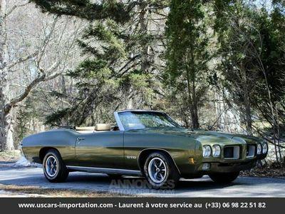 occasion Pontiac GTO 8-cyl. 400cid/350hp 1970 prix tout compris