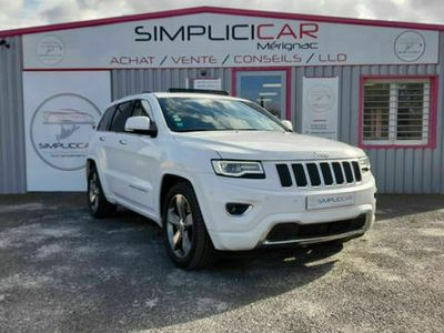 occasion Jeep Grand Cherokee Overland V6 3.0 CRD 250ch