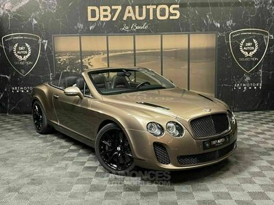 occasion Bentley Continental GTC Supersports 6.0 W12