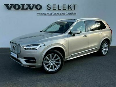 occasion Volvo XC90 T8 Twin Engine 303 + 87ch Inscription Luxe Geartronic 7 places - VIVA2916845