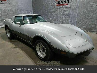 occasion Chevrolet Corvette C3 V8 1978 prix tout compris