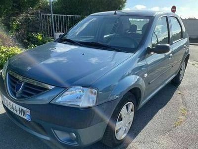 occasion Dacia Logan - 1.5 dci - 85 - Bleu Métallisé