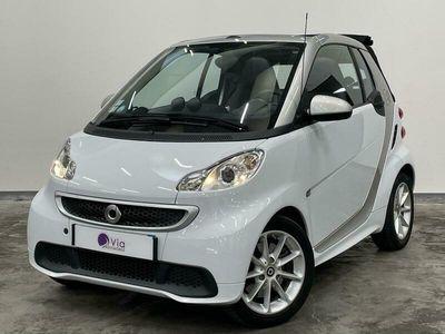 occasion Smart ForTwo Electric Drive Cabrio CUIR Electrique