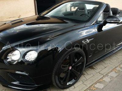 occasion Bentley Continental GTC Black Diamond Edition 1 of 25, ACC, Caméra, Sièges ventilés/massant, Chauffage de nuque, Échappement sport