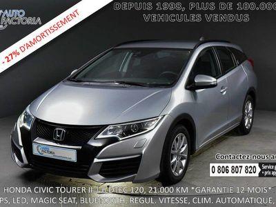 occasion Honda Civic Break 1.6D 120cv *GPS*CLIM. AUTO*LED*+OPTIONS* -27%