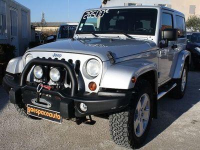 occasion Jeep Wrangler Wrangler2.8 Crd 200 Fap Unlimited Sahara Bva