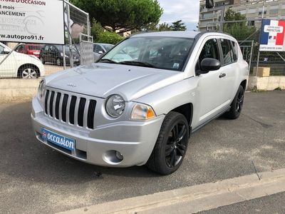 occasion Jeep Compass 2009 - Gris clair - CRD 140ch LIMITED 4WD