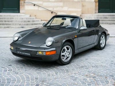 occasion Porsche 911 Carrera Cabriolet 964 2 *Slate Grey*