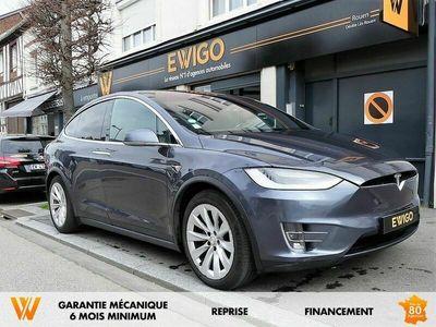 occasion Tesla Model X 100D 100 KWH DUAL MOTOR 6 PLACES Pilotage Automatique Amélioré + ATTELAGE