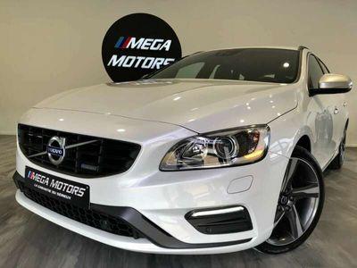 """occasion Volvo V60 2.0 D4 163CV R-DESIGN"""" 1ER MAIN 75.000KM FULL OPTS"""