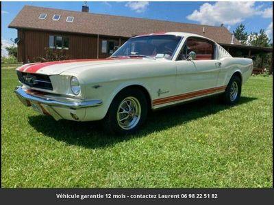 occasion Ford Mustang Fastback v8 1965 prix tout compris