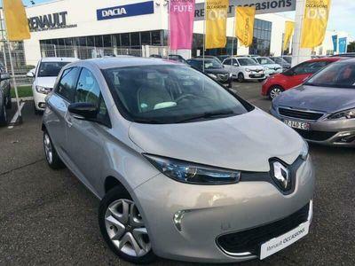 occasion Renault Zoe Zen Gamme 2017 5 portes \u00c9lectrique Automatique Gris