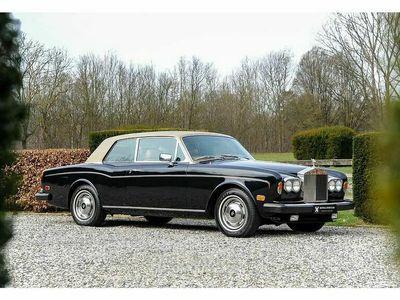 occasion Rolls Royce Corniche Coupe Mulliner Park Ward