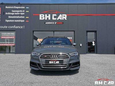 occasion Audi S3 Sportback - quattro 50 tfsi 300 CV BVA - Gris Nacré