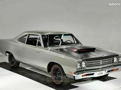 occasion Plymouth Road Runner A-12 1969 - V8 440Ci/410Ch Six Pack - Boite Auto