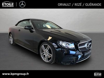 occasion Mercedes 220 Classe E Cabrioletd 194ch Avantgarde Line 9G Tronic