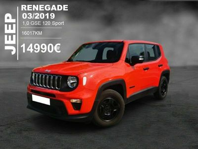 occasion Jeep Renegade 1.0 GSE 120 SPORT
