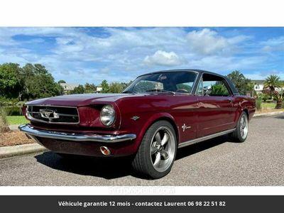 occasion Ford Mustang V8 289 1965 prix tout compris hors homologation 4500 €
