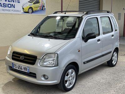 occasion Suzuki Wagon R+ 2005 - Gris Métallisé - 1,3 i 93 cv BVA GLX (1)
