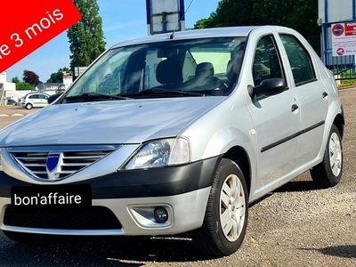 occasion Dacia Logan - 1.5 dci 70ch clim 1er main 82000km - Gris