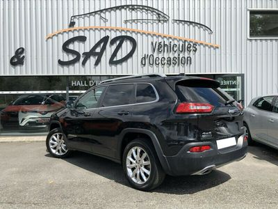 occasion Jeep Cherokee 2.2 MULTIJET 200CH LIMITED ACTIVE DRIVE I BVA S/S