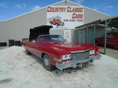 occasion Cadillac Eldorado V8 1974 prix tout compris