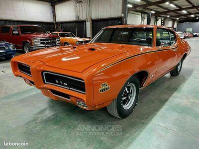 """occasion Pontiac GTO """"Judg"""" 1969 - V8 400Ci - Boite Auto"""
