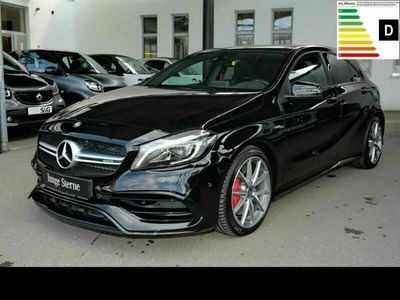 occasion Mercedes A45 AMG 4M Cam + Navi + Pano + LED + Smart ph.