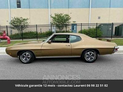 occasion Pontiac GTO V8, gm 400 turbo transmission 1970 prix tout compris hors homologation 4500 €